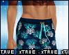 CoralBlue Swim Trunks