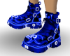 Rave Boots Blue  neon