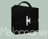 Black Designer Handbag
