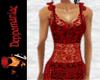 Floretta Dress Top RED