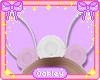 Mom's White Bunny Ears