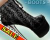 Fashion Print Spike Boot