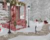 Snowy Stone Walkway