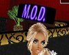 M.O.D. HEAD SIGN