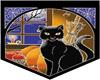 Banner Black Cat