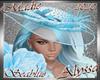!a Alyssa Seablue Hat