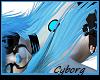 [SP] Cyan Cyborg Mask