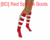 [BD] Red Sparkle Boots