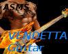 ASMS Flaming Guitar