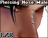 Piercing Nose Male 1