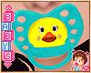 ! Babys Duck Paci