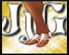 JjG Lovely White Sandles