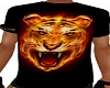 T-Shirt Black Tigre
