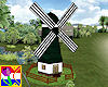 Animated Dutch mill