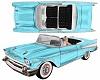 Classic '57 Bel Air Car