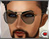 *SC-Gold Sunglasses M