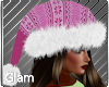 Icicle Pink Rose Hat