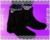 Black Slip-on Boots