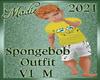 SpongeBob Outfit M V1