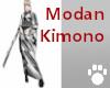 Modan Kimono Black