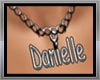 Necklace Danielle name