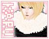 [KA] Cream Fur Scarf