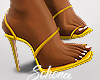ṩLia Heels Yellow