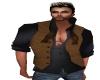 Tan Leather Vest