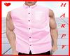 Pink Sleeveless Shirt