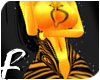 ` Golden Bee -Glitter