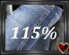 115% Male Scaler