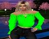 *N*Green Gypsy Blouse