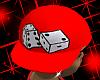 *CA* Red Dice Hat