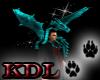 (KDL) Blue Pet Dragon