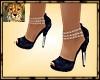 PdT Blue Velvet Heels