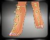 Jewels feet Golden