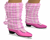 Pink Ice Skates Warmers