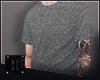 ▼ x Grey Tshirt
