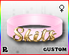 ☢! Skits Collar Gold