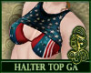 4th July Halter Top GA