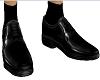 Black formal dress shoes