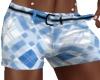 Men's Blue Shorts