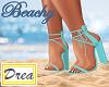 ~Beachy Blue Heels