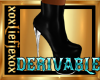 [L] Derivable black boot