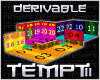 Derivable Tiered Room