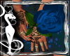 Roses Poses Blue