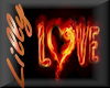 Hot Fire love wall pic