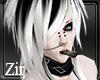 |Zir|V-kei White & black