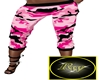 Pink camouflage Bottoms