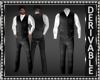 Vest Suit No Tie Mesh